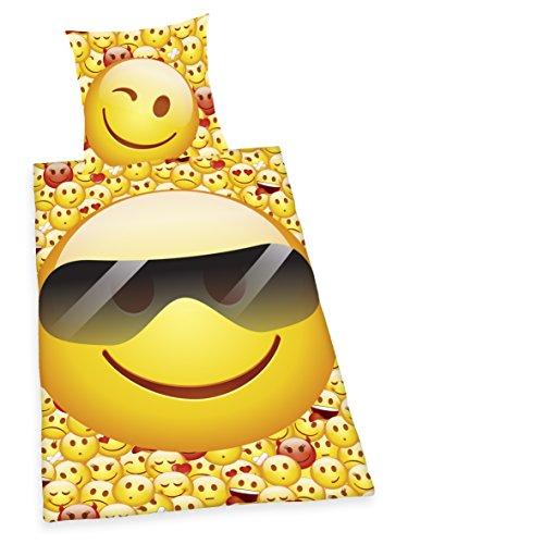 Herding 4459210050 Bettwäsche, Baumwolle, gelb, 200 x 135 x cm