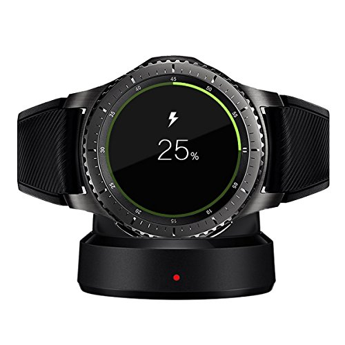 Galaxy Gear S3 Charger, Kissmart Replacement Charger Charging Cradle Dock for Samsung Galaxy Gear S3 Classic / Frontier Smart Watch
