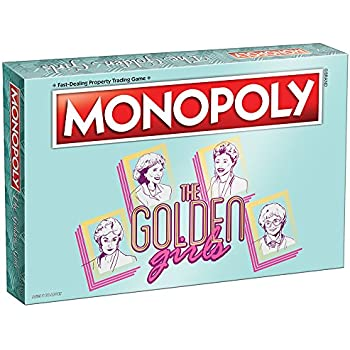 USAOPOLY Golden Girls TV Show Themed Game, Officially Licensed Golden Girls Merchandise, Themed Monopoly Game