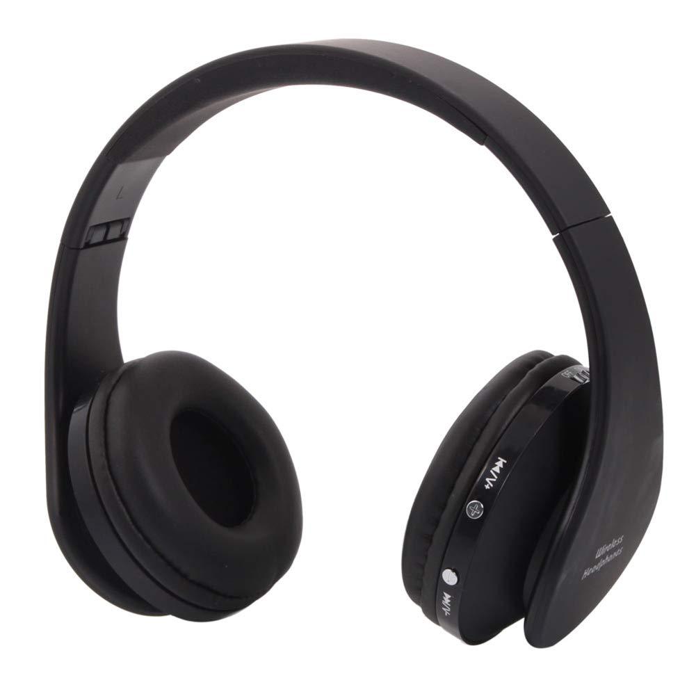 Blacgic ワイヤレスヘッドホン ホット 折りたたみ式 ワイヤレス ステレオ スポーツ Bluetooth ヘッドホン ヘッドセット マイク付き iPhone/iPad/PC NX-8252   B07R79C9TN