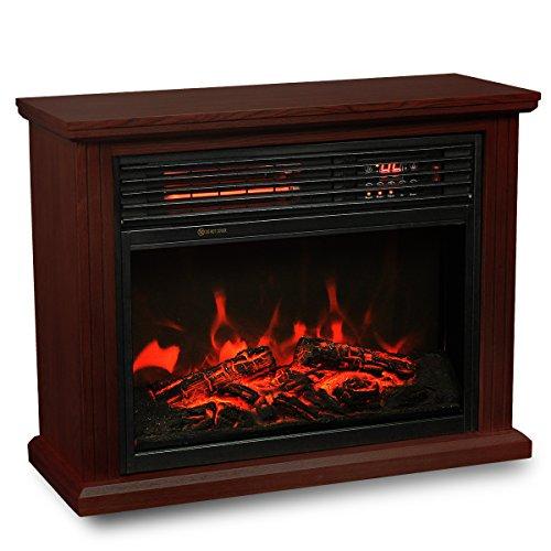 Xtremepowerus Infrared Quartz Electric Fireplace Heater