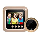 Intercom Video Doorbell, Awakingdemi2.4 Inch TFT Night House Vision Security Camera Door PIR Electronic Doorbell
