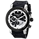 MULCO Unisex MW5-2870-025 Analog Display Japanese Quartz Black Watch