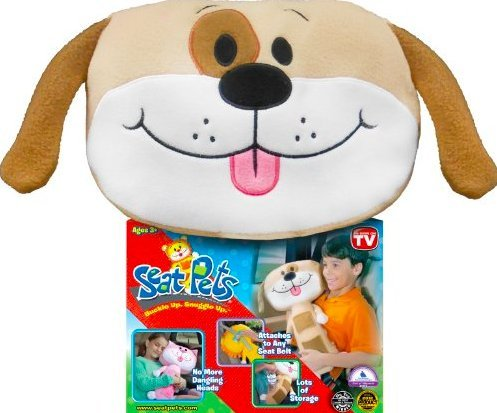 Seat Pets Tan Dog Car Seat Toy