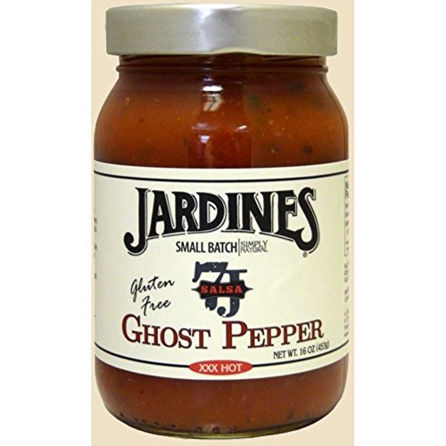 (Jardines Ghost Pepper Salsa XXXX Hot, 16 Ounce -- 6 per case.)