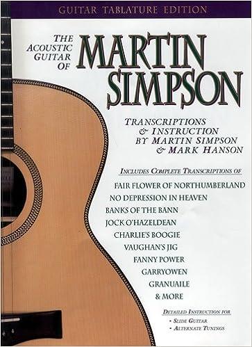 The Acoustic Guitar Of Martin Simpson Martin Simpson 9780936799117