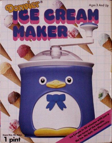 Donvier Chilly Penguin 1 Pint Ice Cream Maker Pink - Maker Ice Penguin Cream