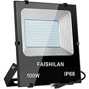 Oshide 100W LED Flood Lights Super Bright Work Lights, 500W ...