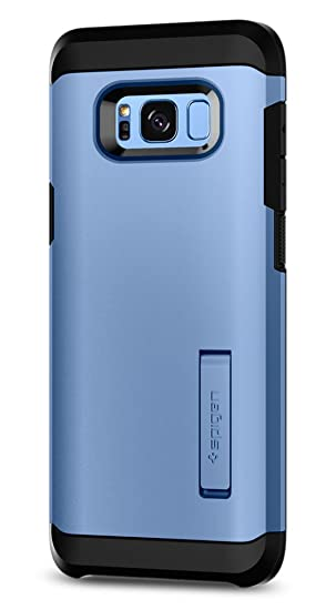 best service 1a2dd cbb63 Spigen Tough Armor Designed for Samsung Galaxy S8 Plus Case (2017) - Coral  Blue