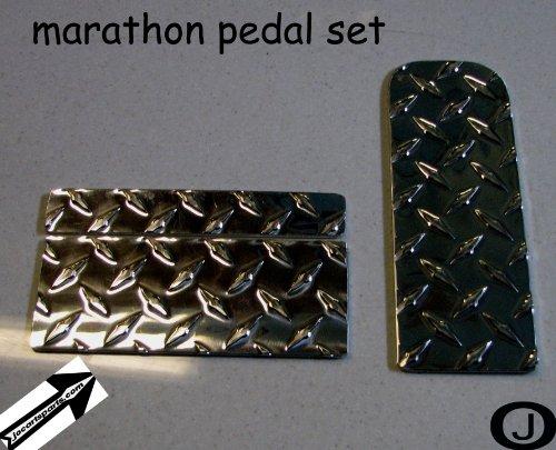 Ezgo Marathon Golf Cart Diamond Plate Pedal ()
