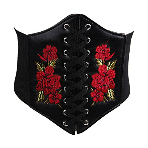 Front Lace Up Back Cinch - 8