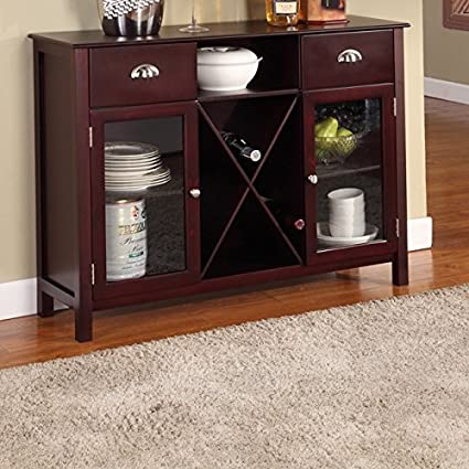 Image Unavailable Not Available For Color Cherry Dining Room Buffet Sideboard