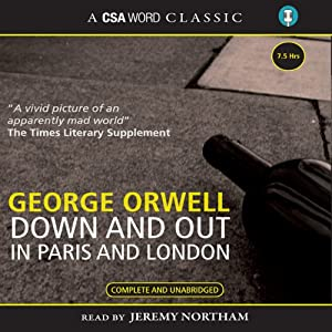 Down and Out in Paris and London | Livre audio