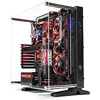 SkyTech Supremacy X Gaming VR/4K Computer PC Desktop - i7-8700K, 500GB Samsung 960 Evo SSD, GTX 1080 Ti 11GB, Custom Hard Tube 360mm Open Loop Water Cooled, 2TB, 32GB DDR4