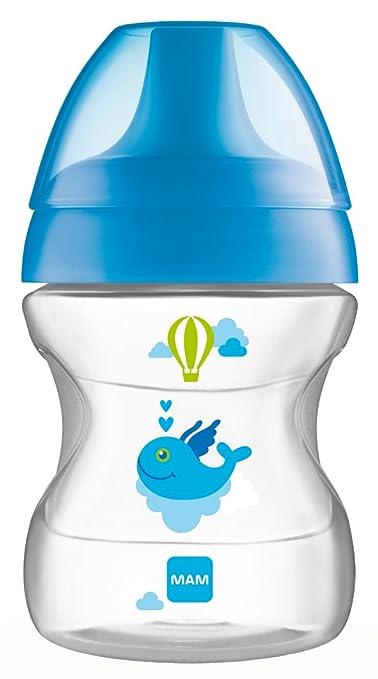 11 opinioni per MAM Babyartikel, Tazza antigoccia per l'apprendimento, 190 ml, Blu (blau)