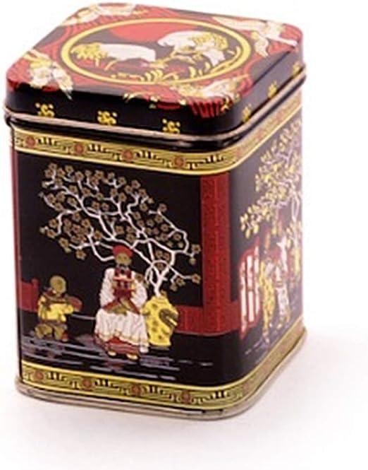 Lata Black Jap 1 kg - Caja metálica para té: Amazon.es: Hogar