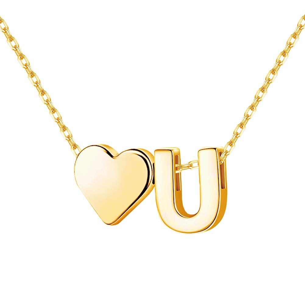 Personalized Name Necklace 18K Gold Custom Nameplate Pendant Jewelry Gift for Women