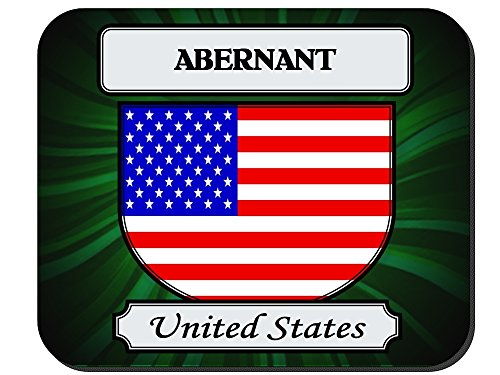 Abernant, United States (USA) City Mouse Pad