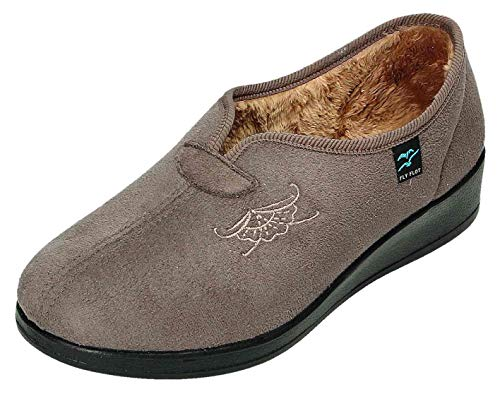 Fly Pantofole Talpa Donna Flot Marrone qSn1qxAz
