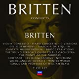 Britten Conducts Britten: Incl. Violin Concerto, Piano Concerto, Diversions, Cello Symphony, Sinfonia da Requiem,Prince of the Pagodas, Nocturne etc