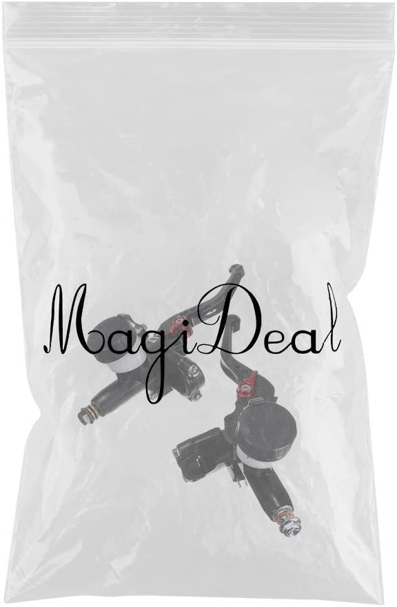 MagiDeal 7//8 22mm Universal Motorcycle Hydraulic Brake Master Cylinder /& Clutch Lever