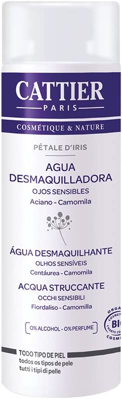Cattier Agua desmaquilladora de ojos Pétale d'Iris - 150 ml