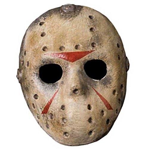 Friday The 13th Jason Voorhees Deluxe EVA Hockey Mask (Hockey Mask Jason)