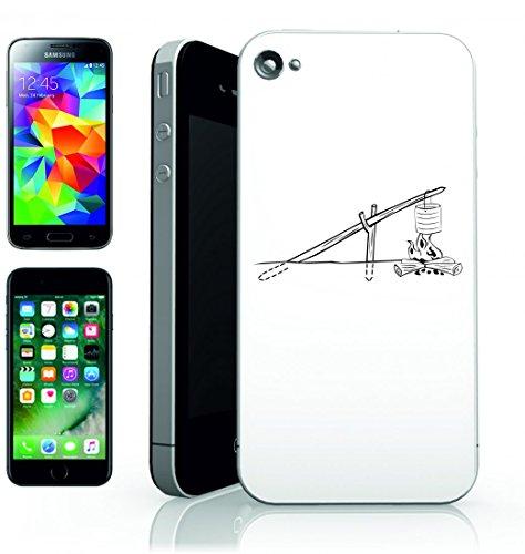 Smartphone Case falò di Grill Party di cottura all aperto della Giuria mani puliert di Jerry mani puliert di campeggio per Apple Iphone 4/4S, 5/5S, 5C, 6/6S, 7& Samsung Galaxy S4, S5, S6, S6Edge