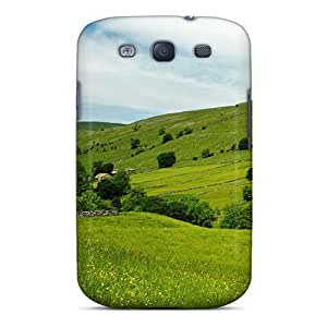 New Arrival Premium S3 Case Cover For Galaxy (green Hills) by icecream design