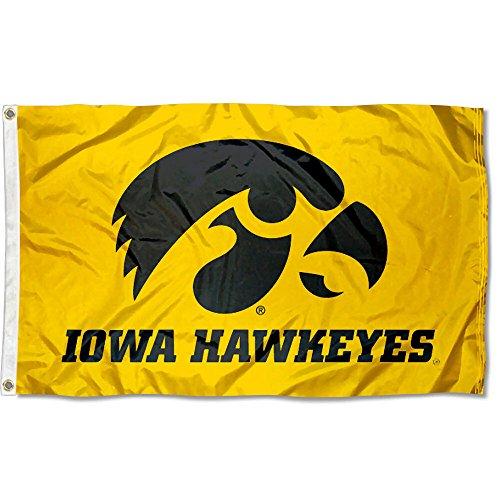 Iowa Colleges University - Iowa Hawkeyes University Large College Flag