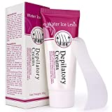 Depilatory Cream Bikini - (Two bottles)Hair off cream Hair Removal Cream water ice levin Depilatory Cream Used on Bikini,Underarm,Chest, Back, Legs and Arms for Men and Women,Simple and fast(Send random gifts)