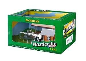 Loading Platform & Crossing Shanty Plasticville Built-Up