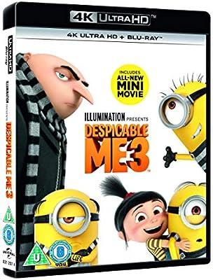 Despicable Me 3 [Region B] [Blu-ray]: Amazon com au: Movies