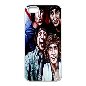 DDOUGS The Who Best Cell Phone Case for Iphone 5,5S, Custom The Who Case