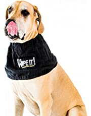 The All New Wipe It! Drool Towel for Dogs
