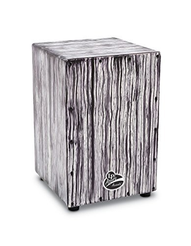Latin Percussion LPA1332-WS LP Aspire Accents Cajon - White Streak by Latin Percussion