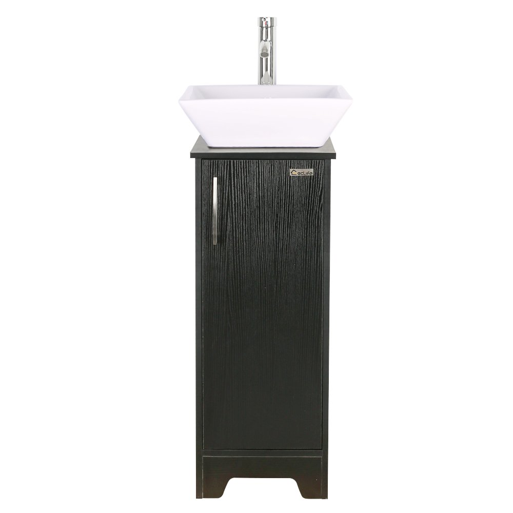 13 inch Modern Bathroom Vanity Units Cabinet And 16 inch Sink Stand ...