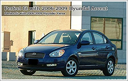 OEM Genuine 852101E020QS LH Sun Visor For 2006-2011 Hyundai Verna Solaris Accent