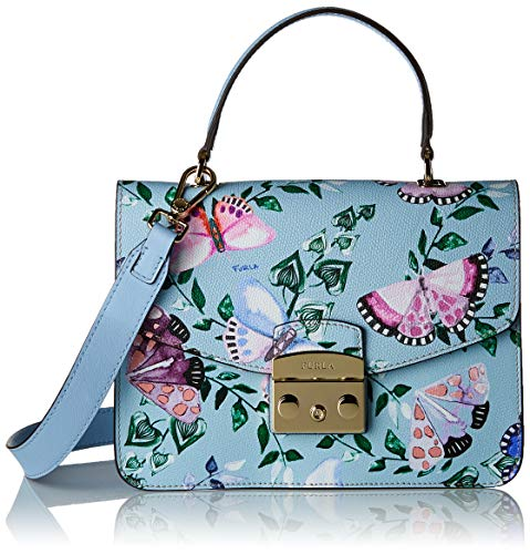 Small Fiordaliso Multicolore Borsa Top Donna Toni FURLA Metropolis Handle 8xY5nP7q