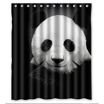 Home Decor Cute Panda Shower Curtain 60x72 Inch College Of The Wind