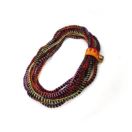- Layer Rope Infinity Scarf Necklace For Woman