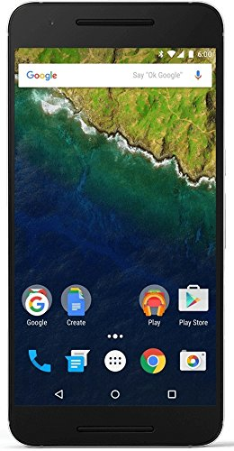 Huawei Nexus 6P H1512 5.7-Inch 32GB Unlocked Cellphone, International Version (Black)