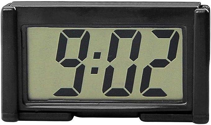Amazon.com: YOUNGFLY Mini Car Clock Auto Car Truck Dashboard Time Self-Adhesive Bracket Vehicle Electronic Digital Clock: Automotive