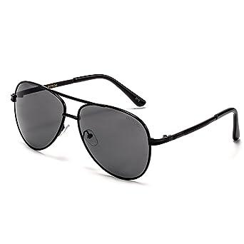 BOYOU Aviador del estilo de la vendimia gafas de sol con protección UV400