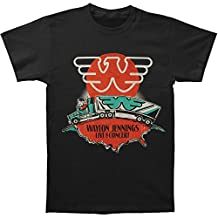 Waylon Jennings - Mens Live In Concert T-Shirt