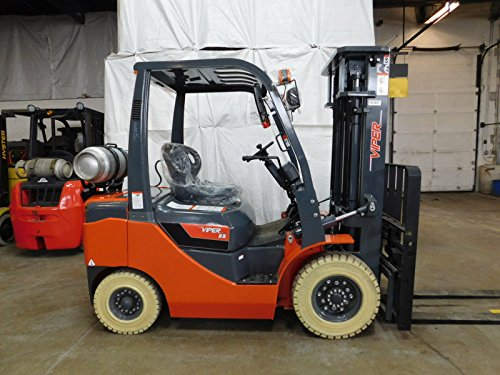 - BRAND NEW 2017 Viper FY25 5000LB pneumatic forklift side shift fork positioner comparable to Hyster, Caterpillar, Genie, Yale, Linde, Mitsubishi, Clark, Crown