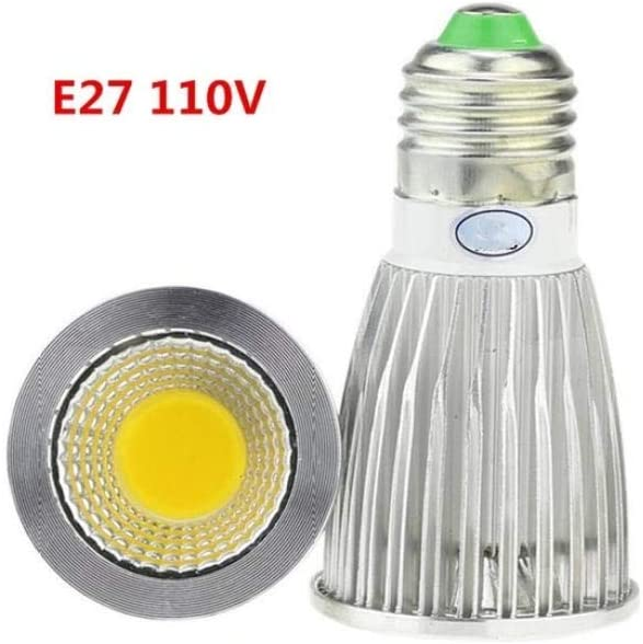 Bombilla Campana Extractora 3X de alta potencia Lampada Led E27 110V 12w Regulable Led Cob Foco Lámpara de bombilla blanca fría cálida 12V-si_Blanco puro 4000k: Amazon.es: Iluminación