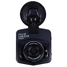 AutoLover® Mini Car DVR Camera Full HD 1080P DCR Detector Recorder Camcorder Parking Recorder Dash Cam Video G-sensor Night Vision (Black)