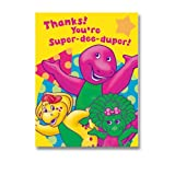 Barney Thank You Notes, 8ct