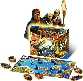 Ravensburger – Juego de Mesa para niños – atención Pirates: Amazon.es: Juguetes y juegos